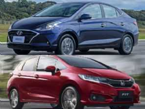 Honda Fit EXL ou um Hyundai HB20S Diamond Plus?