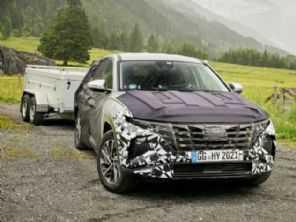 Ousado, novo Hyundai Tucson tem mais imagens reveladas