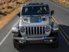 Jeep Wrangler elétrico é antecipado por teaser