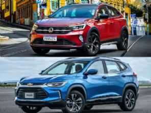 SUVs perto dos R$ 100 mil: Tracker LT, Nivus Comfortline ou Nivus Highline?