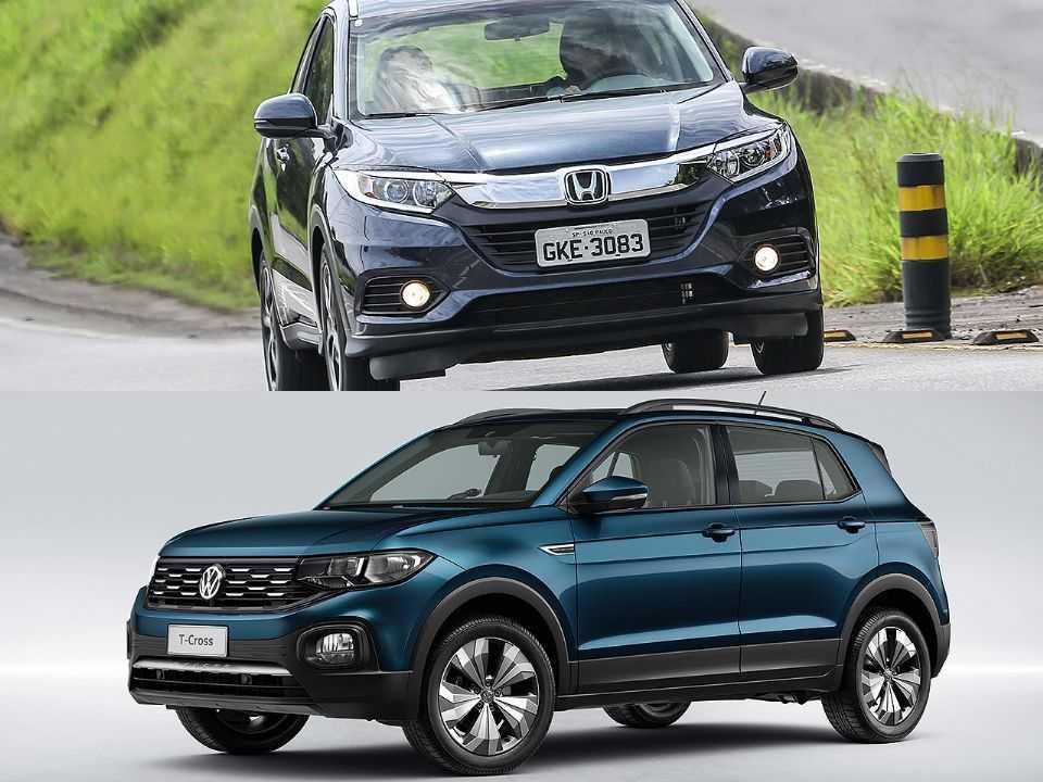 Honda HR-V e Volkswagen T-Cross