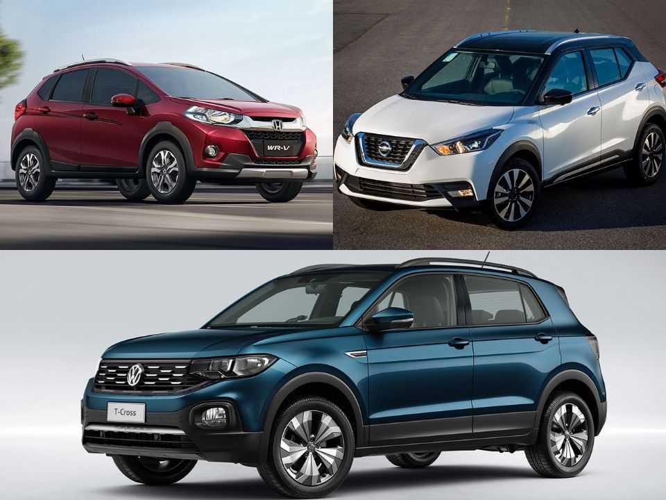 Honda WR-V, Nissan Kicks e VW T-Cross