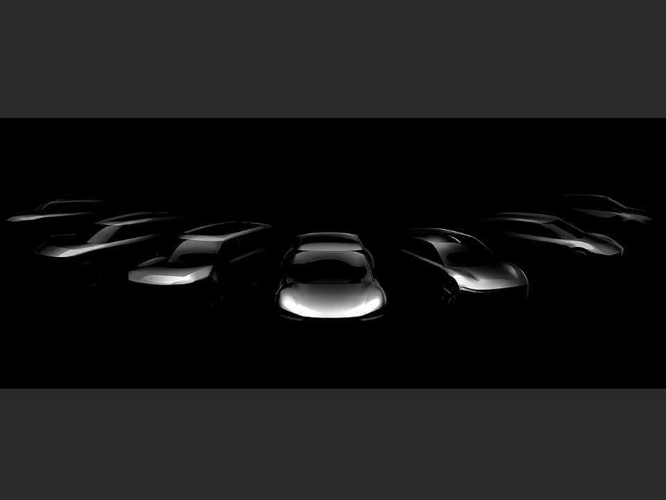Detalhe da nova família de modelos puramente elétricos da Kia: estreia global inicia em 2021