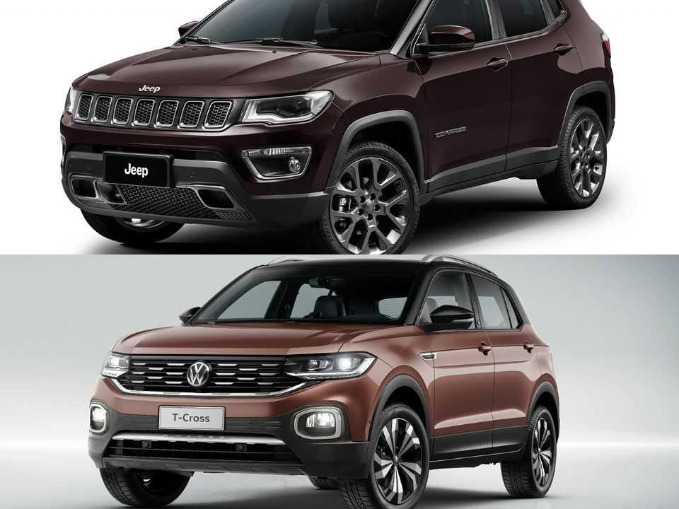 Jeep Compass e VW T-Cross