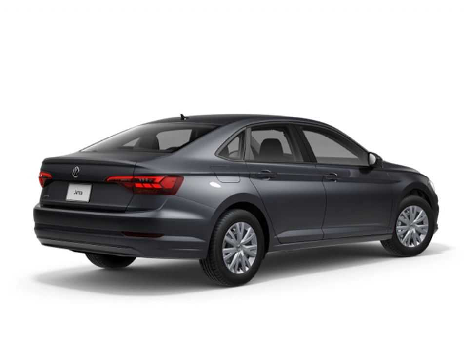 Acima o Volkswagen Jetta Startline vendido no México