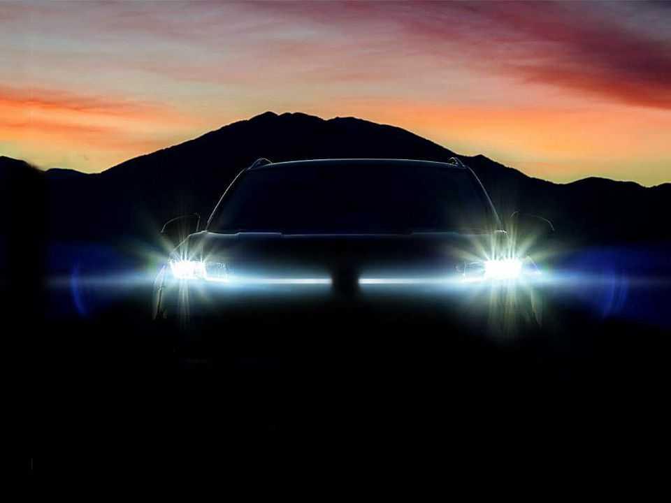 Teaser da VW sobre a versão definitiva do projeto Tarek