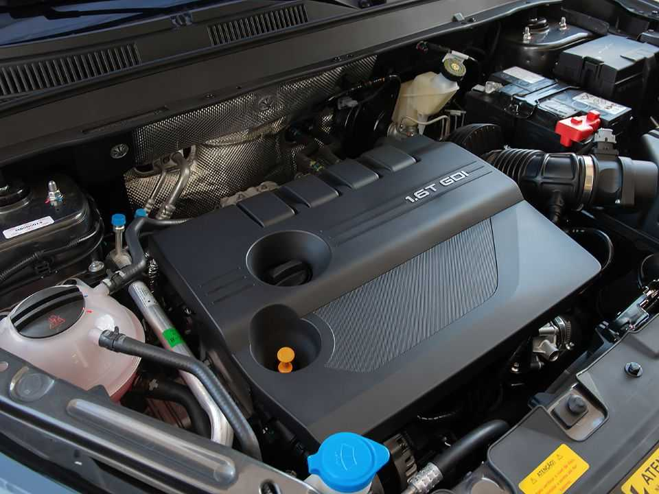 Detalhe do motor 1.6 TGDI aplicado no Tiggo 8 nacional