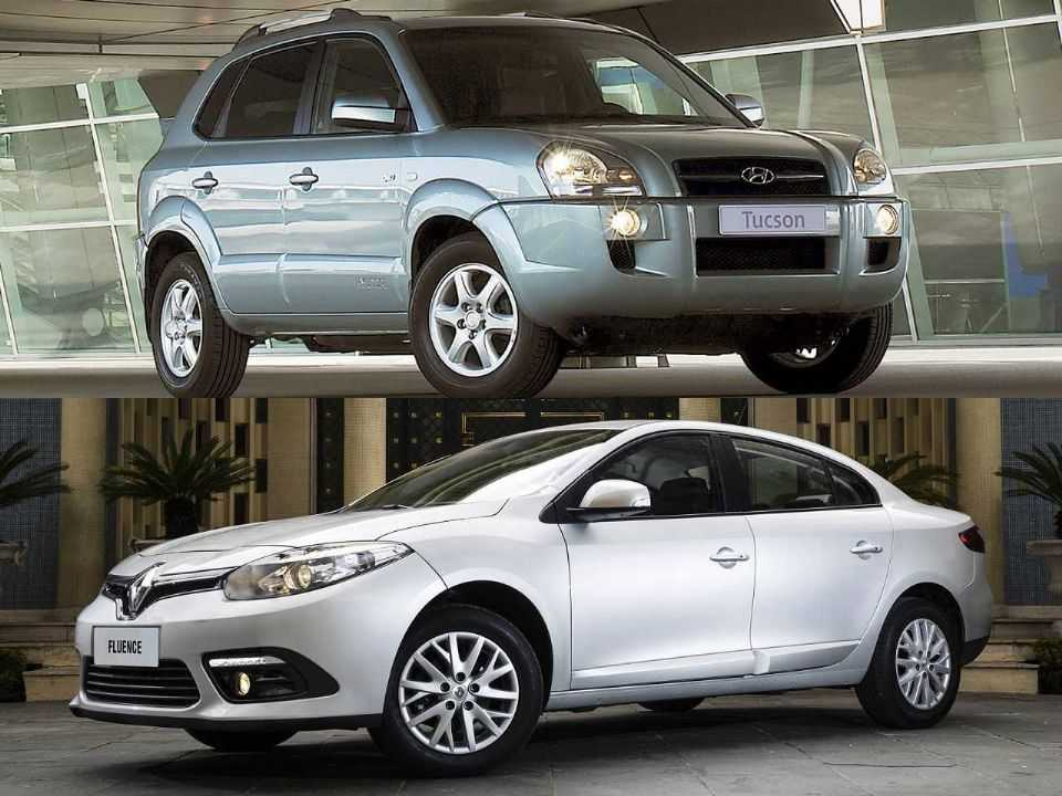 Hyundai Tucson e Renault Fluence