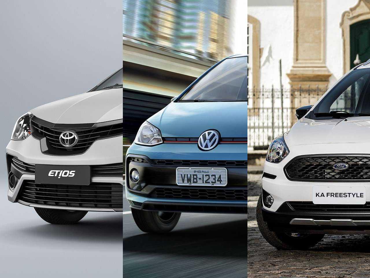 Etios e up! estão entre os compactos que podem sair de cena junto com o Ford Ka em 2021