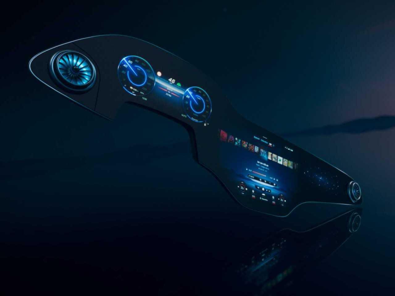 """Hyperscreen é a nova """"super tela"""" da Mercedes-Benz"""