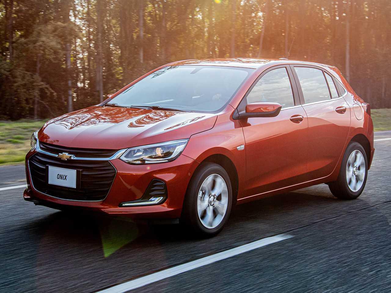 Chevrolet Onix: pelo 6º ano consecutivo, modelo é o carro mais vendido no Brasil
