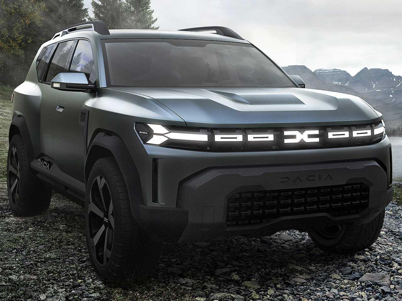 Dacia Bigster Concept: marca vai avançar para o segmento de médio porte