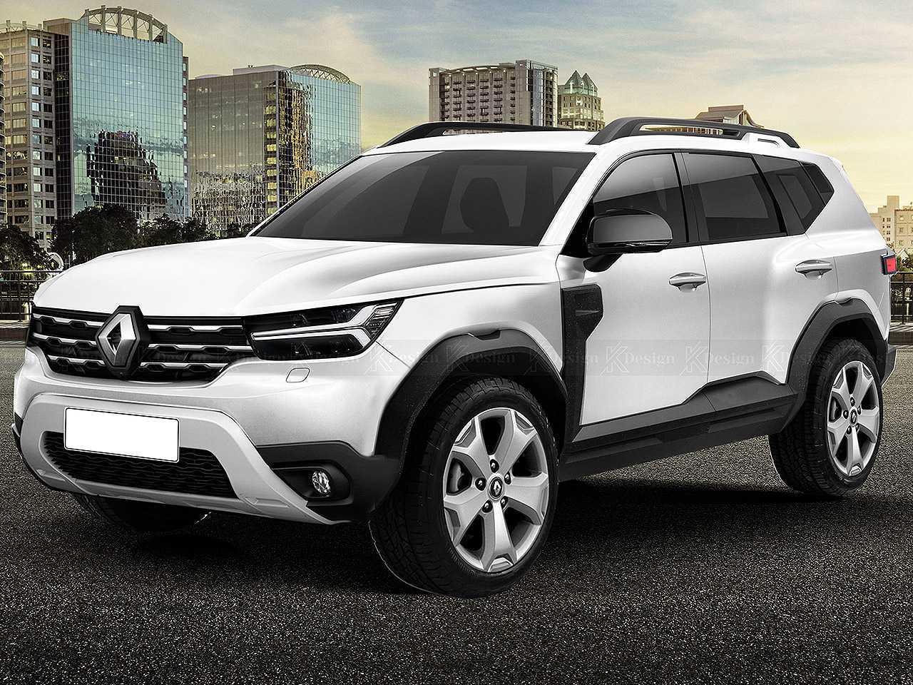 Tomando como base o Dacia Bigster Concept, designer Kleber Silva imaginou um SUV 7 lugares acessível para a Renault