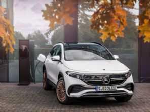 Mercedes EQA: elétrico de entrada da marca chega ao Brasil em 2022