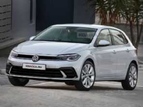 Projeção antecipa visual do novo VW Polo 2022