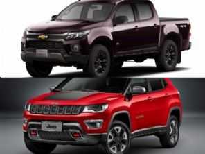 Para rodar no dia a dia em estradas ruins: Jeep Compass Trailhawk ou Chevrolet S10 LT diesel?