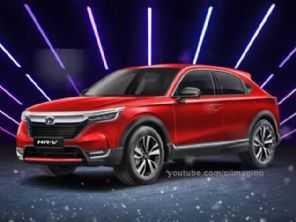 Vídeo: projeções antecipam o novo Honda HR-V 2022