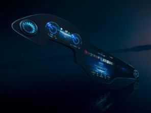 Mercedes revela painel com tela de 56 polegadas