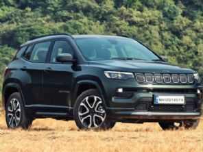 Novo Jeep Compass tem preços partindo de R$ 125,8 mil na Índia