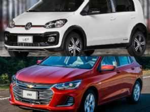 Comprar um VW up! Xtreme ou um Chevrolet Onix LTZ manual?