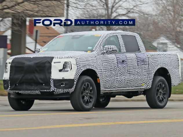 Flagra mostra interior da nova Ford Ranger 2023