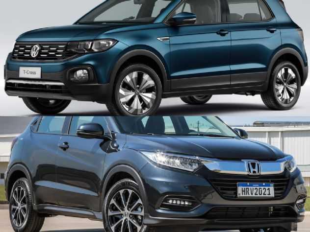 SUVs: VW T-Cross Comfortline ou um Honda HR-V EXL?