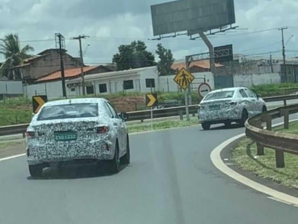 Flagra mostra novo Honda City sendo testado no Brasil