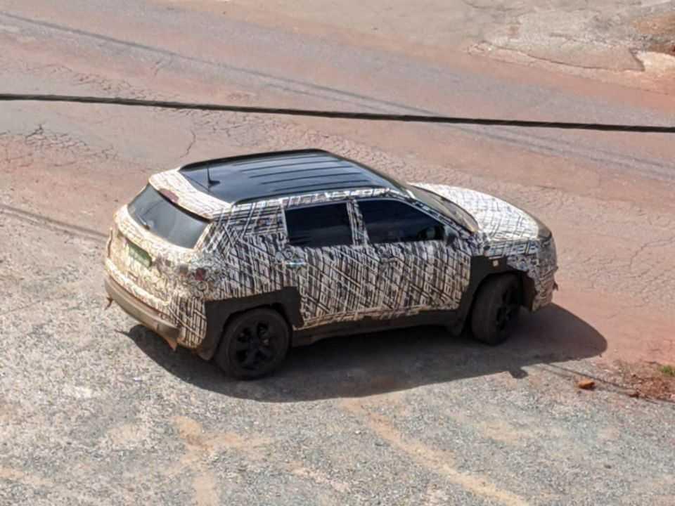 Novo Jeep Compass 2022 flagrado em Nova Lima (MG)