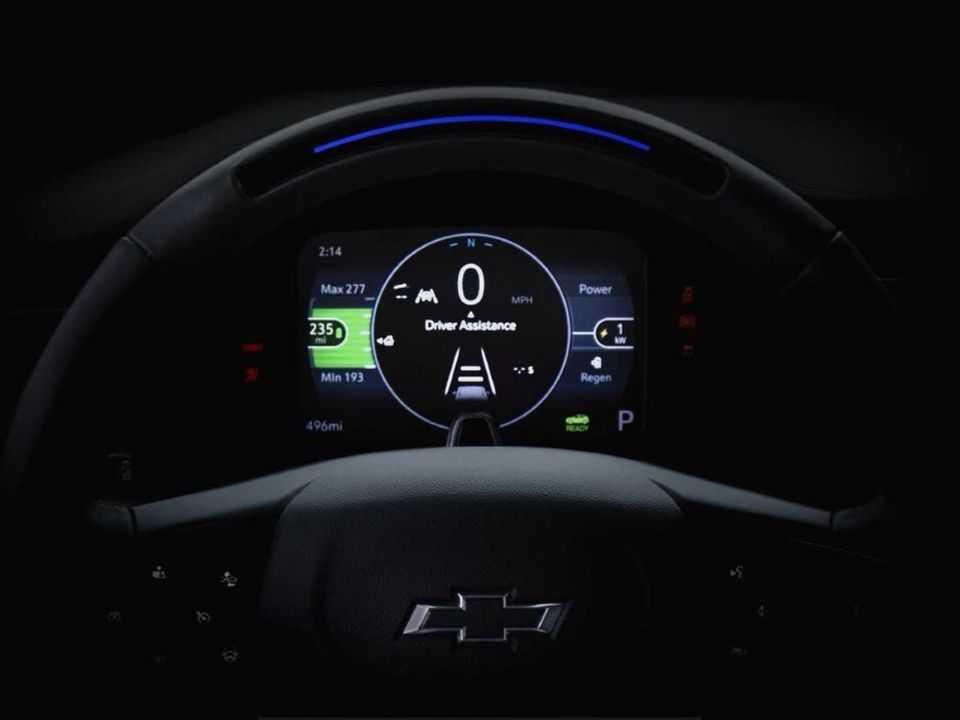 Teaser para o Chevrolet Bolt EUV