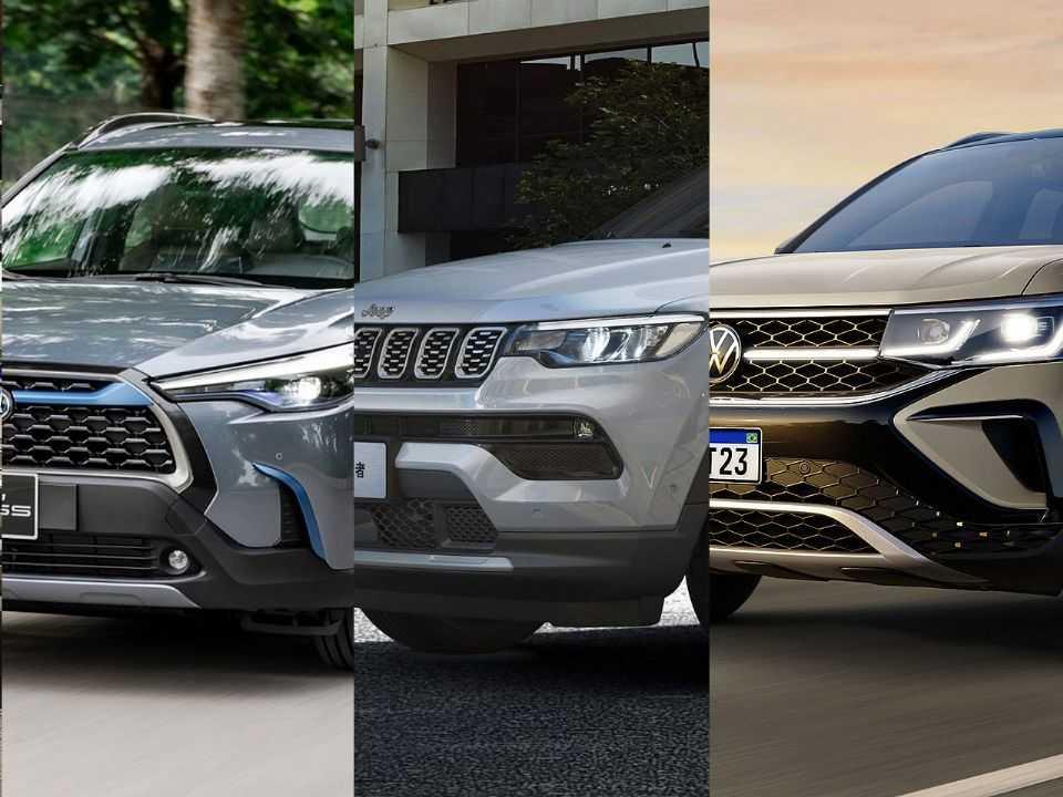 Corolla Cross, Compass e Taos: briga no segmento de SUVs médios vai esquentar em 2021