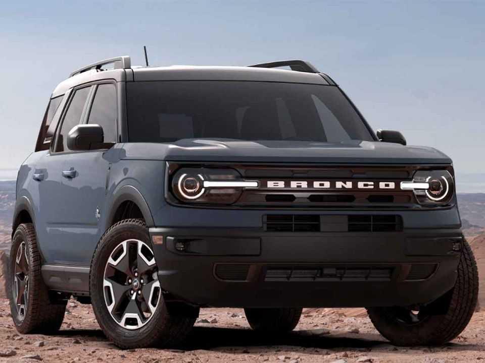 Ford Bronco Sport na versão Outer Banks