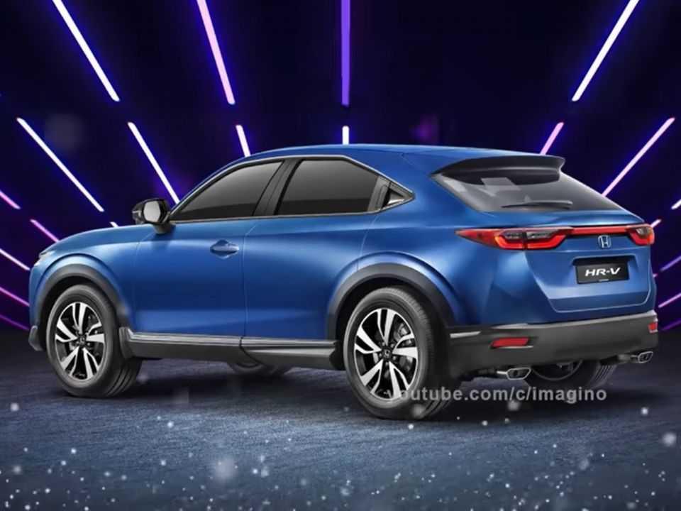 Projeção para o novo Honda HR-V