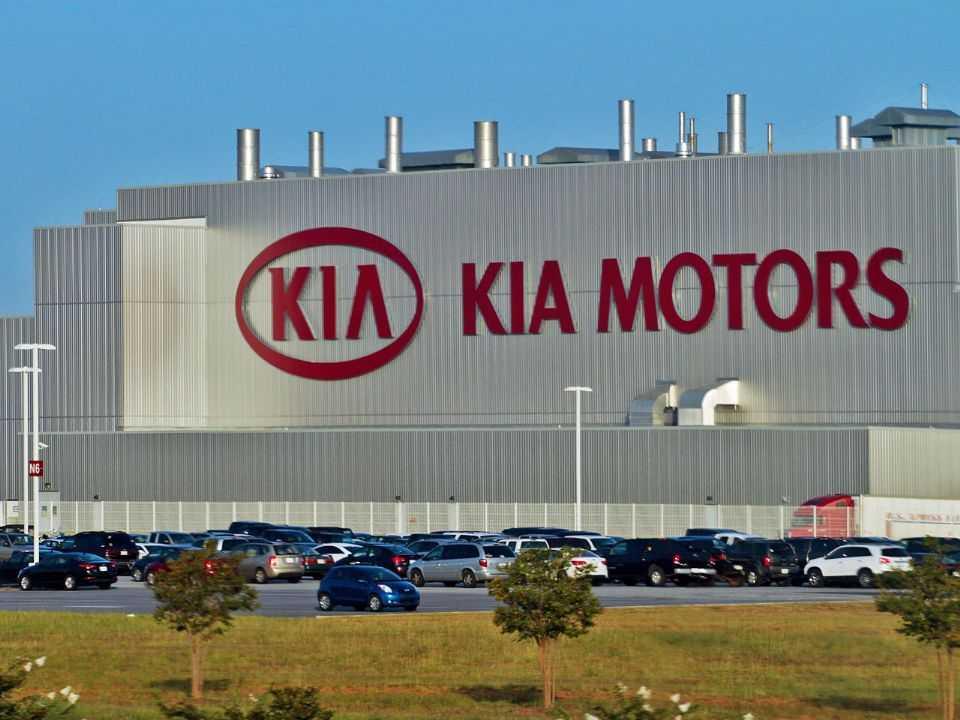 A fábrica da Kia nos EUA pode servir como linha de montagem dos carros da Apple