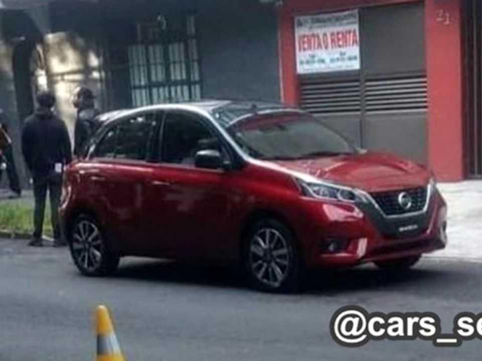 Novo Nissan March é flagrado no México