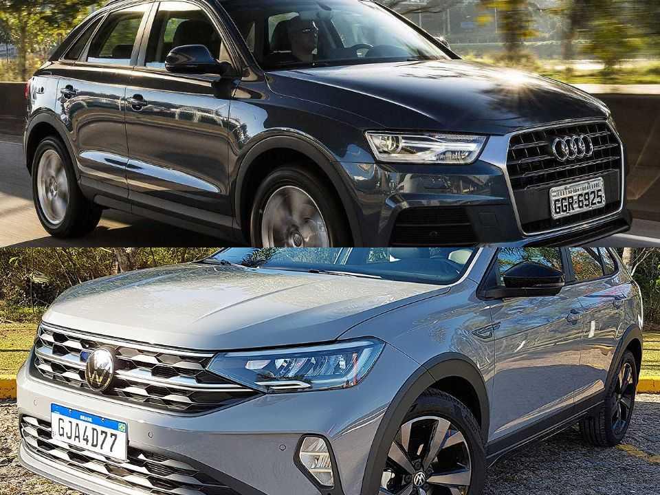 Audi Q3 e Volkswagen Nivus