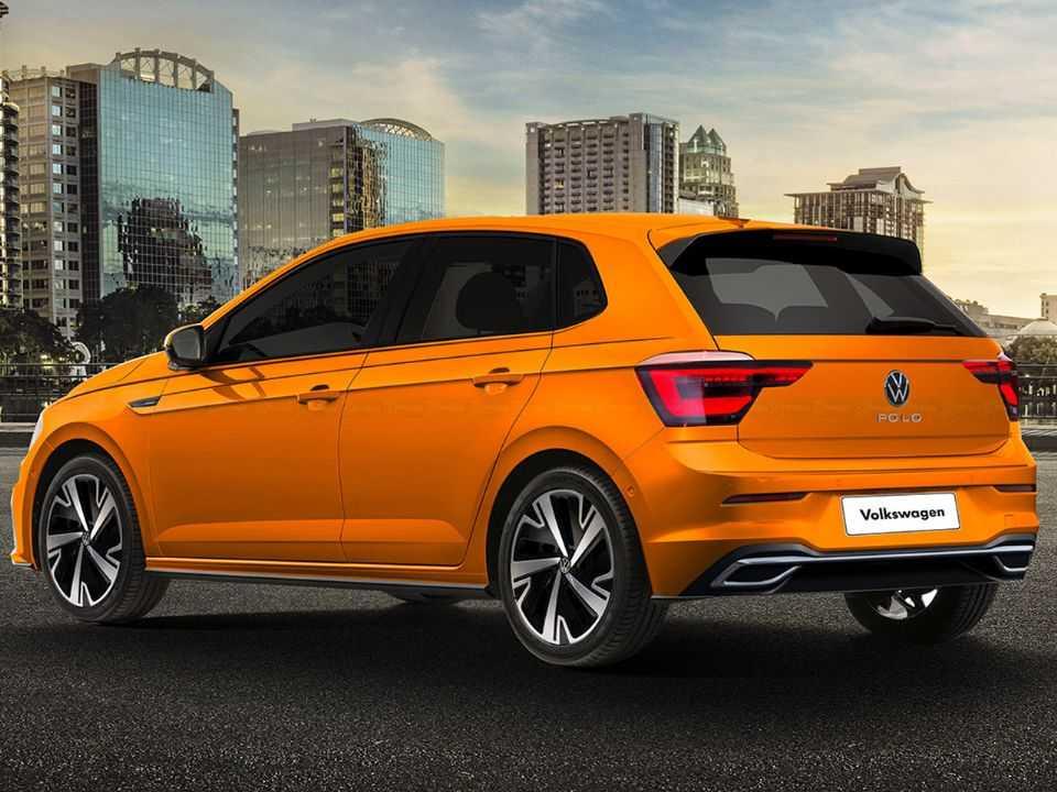 Sugestão de Kleber Silva para o que podemos esperar do facelift do VW Polo com base em flagras no exterior