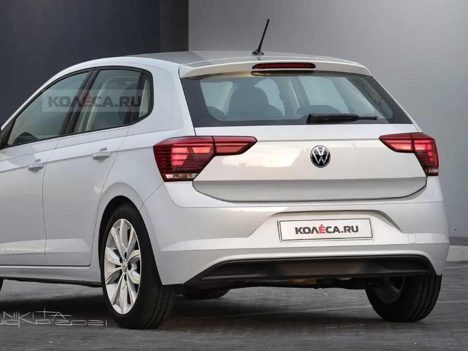 Projeção mostra como pode ser o Volkswagen Polo 2022