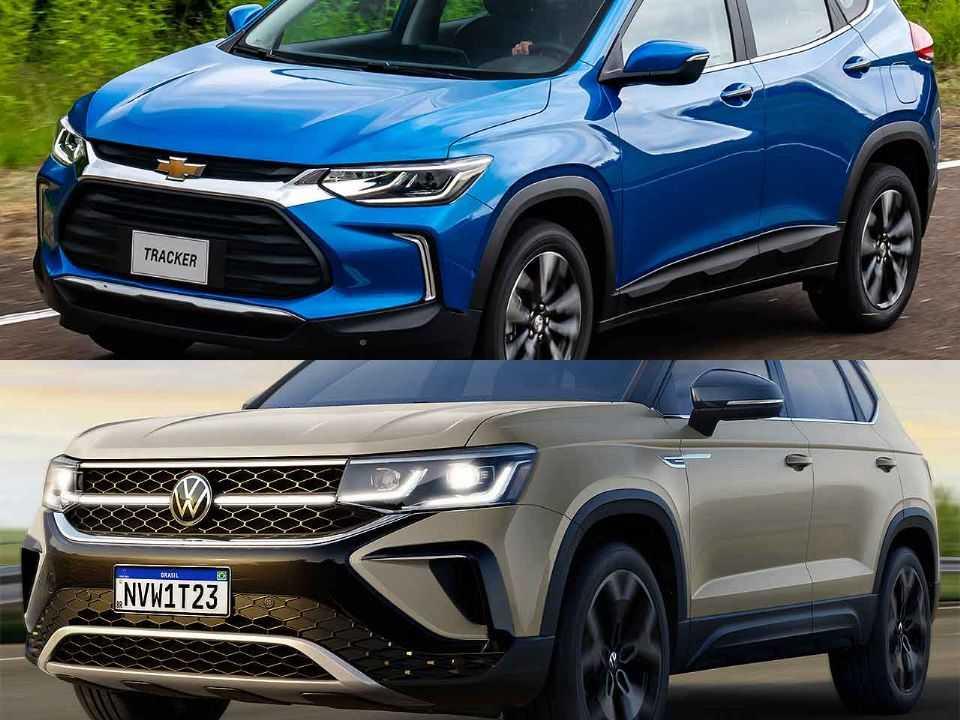 Chevrolet Tracker e VW Taos