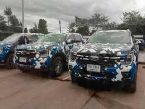 Flagra da nova Ford Ranger revela mais detalhes da picape