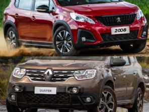 SUVs 2022: Renault Duster Iconic ou Peugeot 2008 Griffe THP?