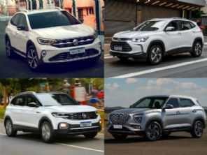 SUV compacto com bom porta-malas: novo Creta, Tracker, T-Cross ou Nivus?
