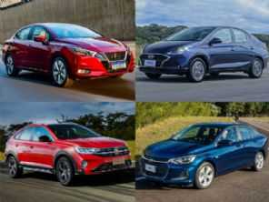Hyundai HB20S, Chevrolet Onix Plus, Nissan Versa ou VW Nivus?
