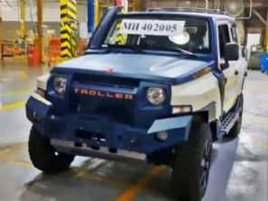 Apesar de vendas em alta, Troller produz o último jipe T4