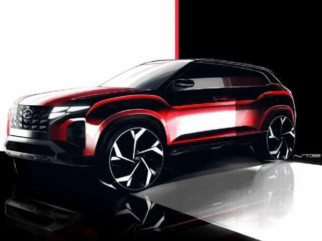 Hyundai Creta deve ganhar frente do novo Tucson em breve