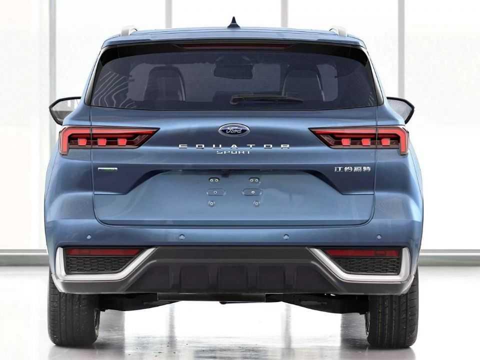 Ford Equator Sport será a versão de 5 lugares do SUV