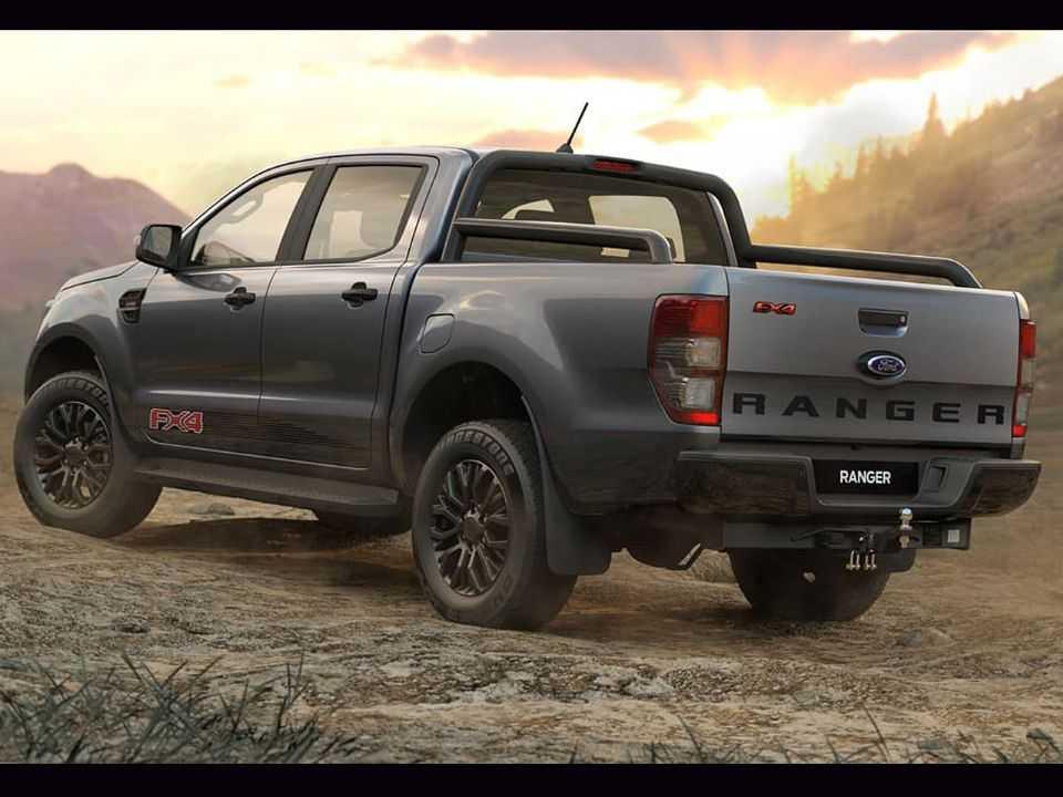 Acima a Ford Ranger FX4 comercializada na Austrália