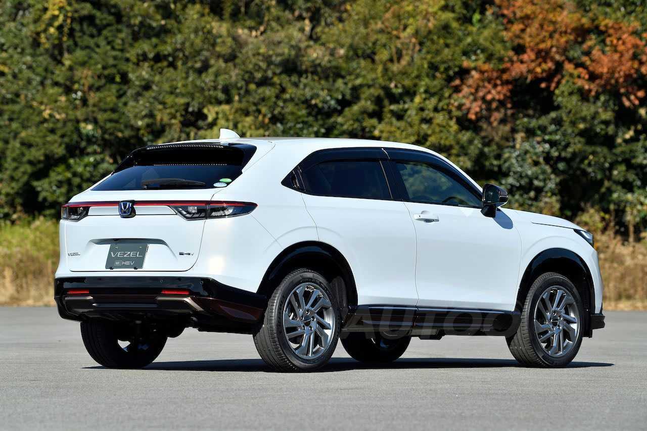 HondaHR-V 2022 - ângulo traseiro