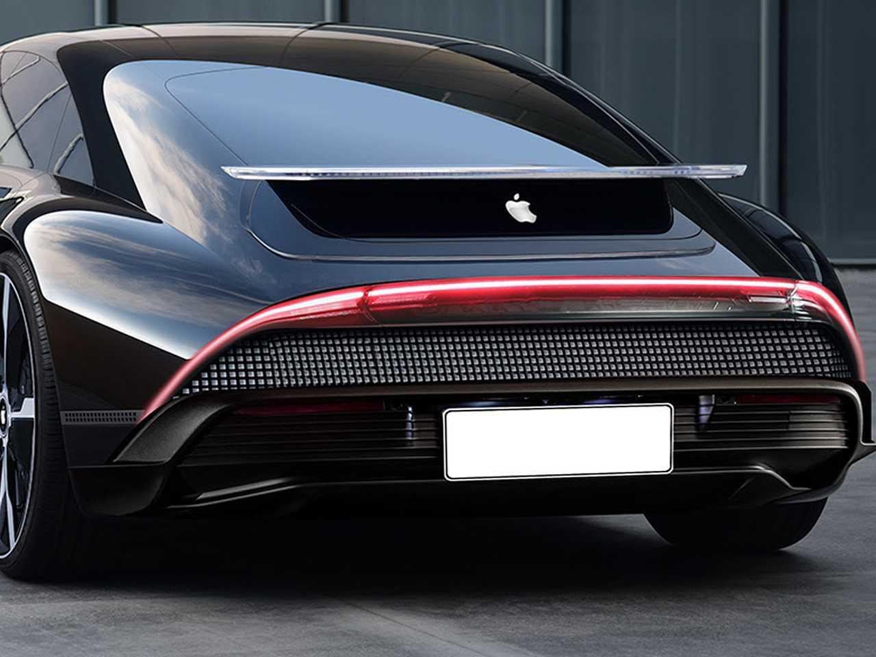 Projeção de Kleber Silva para um carro elétrico da Apple tomando como base conceito recente da Hyundai