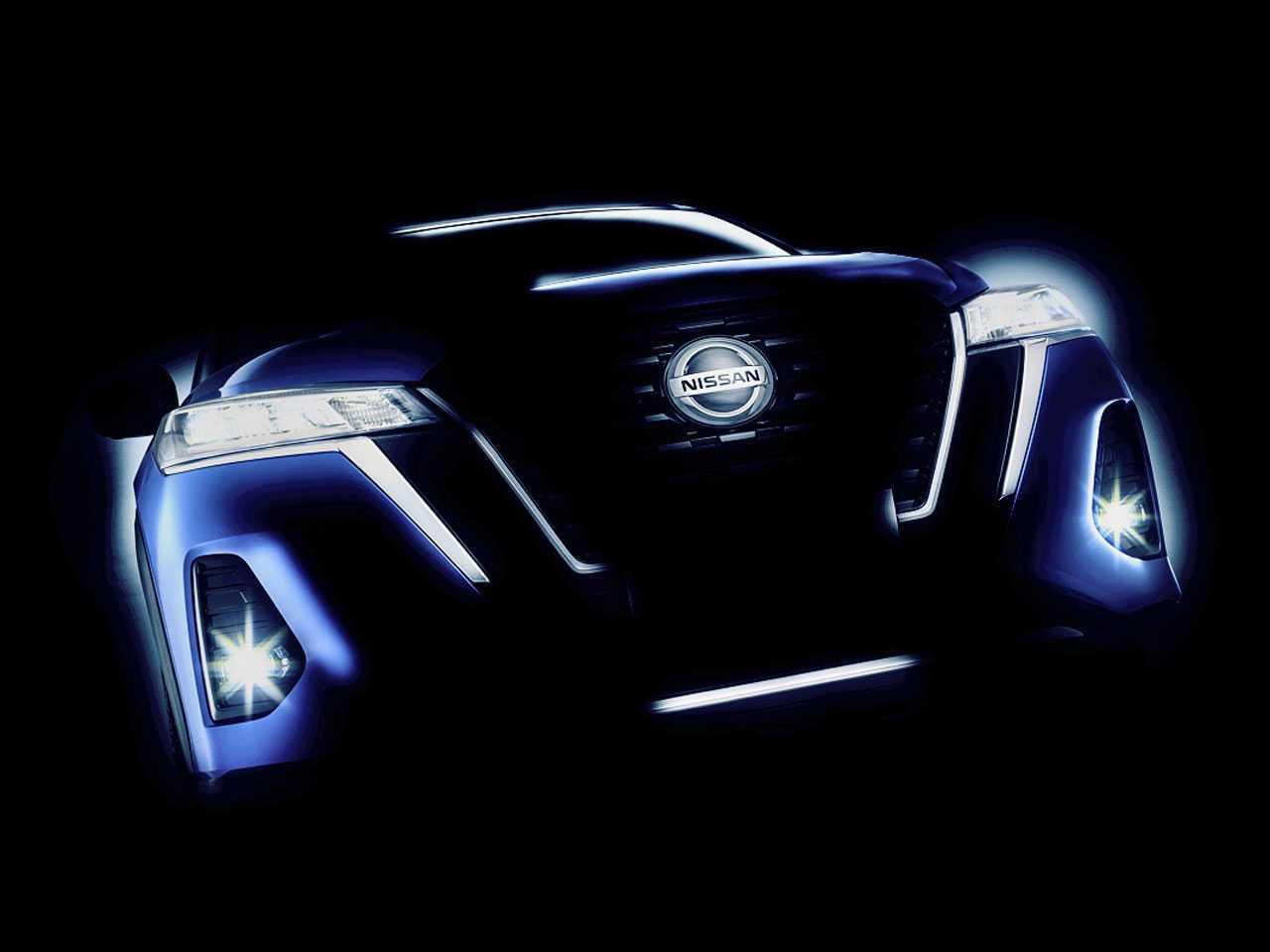 Imagem de teaser do novo Nissan Kicks 2022