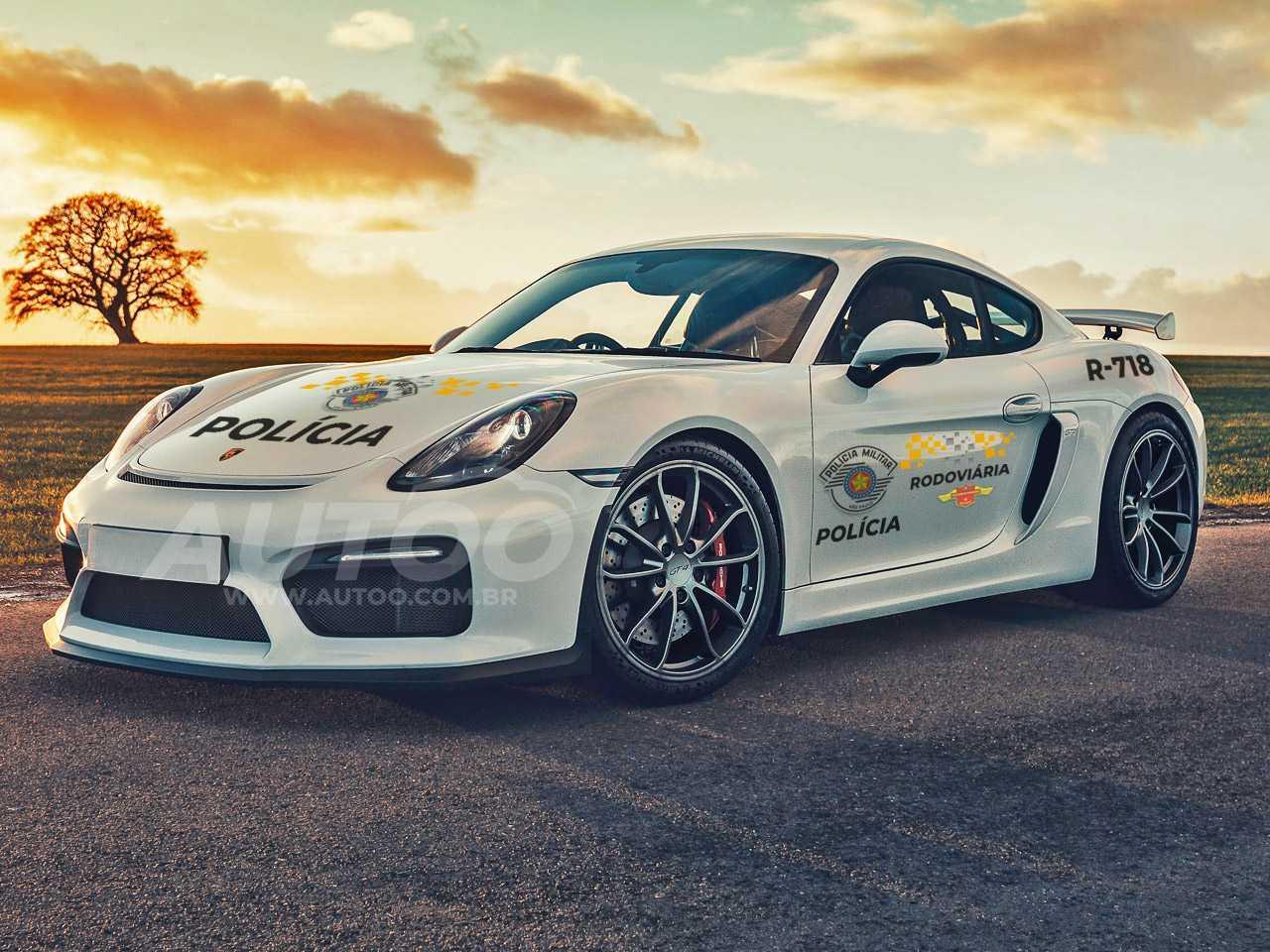 Em breve nas estradas paulistas: Porsche Cayman apreendido deve equipar Polícia Rodoviária de São Paulo
